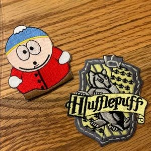 Other - cute set of iron on patches!